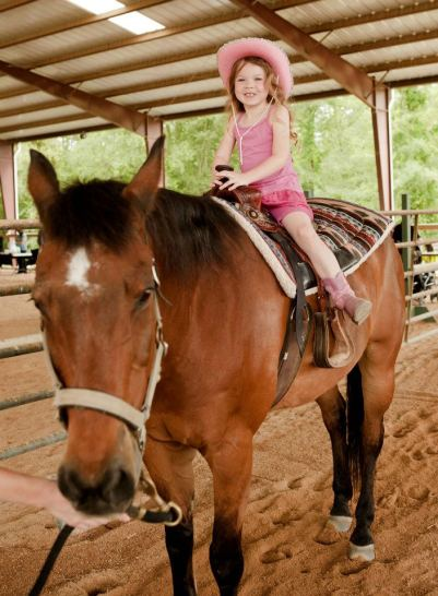 Fun on horseback!